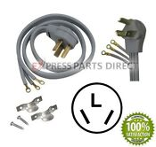 Electric Dryer Power Cord 3 Wire 4 Feet For Whirlpool Ge Frigidaire Maytag