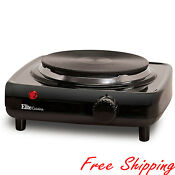Single Buffet Burner Electric Hot Plate Portable Kitchen Cook Stove 1000 Watt