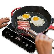 Induxpert Portable Induction Cooktop 1800w With Power Temperature And Timer