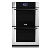 Viking Pro Virtuoso Stainless 30 Double Oven Mvdoe630ss