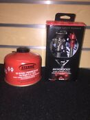 New Msr Microrocket Compact Canister Stove Sterno Iso Butane Propane Fuel Mix