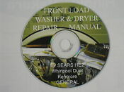 Front Loading Automatic Washer And Dryer Sears He2 Plus General Repair Manual