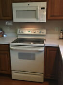 Ge Electric Range And Microwave 30 Used In Great Shape