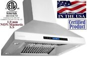 Xtremeair Px07 I36 36 900 Cfm Easy Clean Stainless Island Mount Range Hood