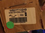 Ge Oven Control Board Wb27t10249 New In Box