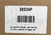 Speed Queen Washer Motor 38034p New Oem