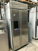 Ge Monogram 48 Built In Fridge Model Ziss480nriss