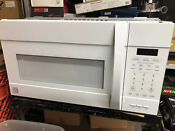 Kenmore Elite 900w Microwave Convection Oven Over The Range 790 80362310 Combo