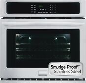 Frigidaire Gallery 30 Stainless Steel Single Wall Electric Oven Fgew3065pf