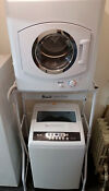 Avanti Apartment 1 6 Cu Ft Washer And 9 Lb Dryer Set With Stand