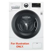 Lg 2 3 Cu Ft Wm3488hw All In One Front Load Ventless Washer And Dryer