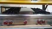Wolf 36 Ss 4 Burners And Grille Range Top