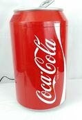 Koolatron Coca Cola Mini Refrigerator Warmer 8 Can Portable Fridge