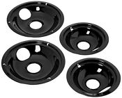 Stove Drip Pan Electric Burner Cover Top Replacement Bowl Set Frigidaire Kenmore