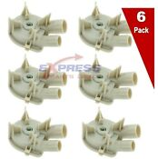 6 Pack 3363394 Washer Drain Pump Whirlpool Wp3363394 Ps11741239 Ap6008107