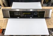 Ge Monogram Zet938sf5ss Wall Oven Wb36t10882 Panel Control Assembly Tested