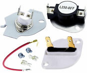 279816 3390719 Dryer Thermal Cut Off Kit And Thermal Fuse For Whirlpool Kenmore