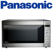 Panasonic Nn Sd945s 2 2 Cu Ft Countertop Microwave Stainless Steel
