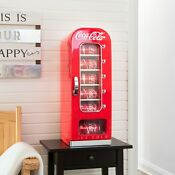 Koolatron Coca Cola 18 Can Retro Countertop Electric Beverage Cooler Cfv18 Red