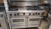 Viking 48 Ss 6 Burners With Griddle Gas Range