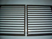 Jenn Air Whirlpool Oem Stove Range Parts Grill Grates 2 Used