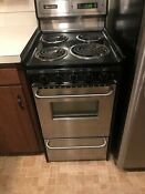 20 Stainless Steel Electric Stove Brown Usa