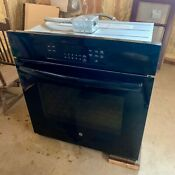 Pickup Only Ge 27 Single Wall Electric Oven Black Jk3000df2bb