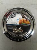 Drip Pans Reflector Bowl 4pc Set 6 And 8 Frigidaire Whirlpool Stove Range Chrome