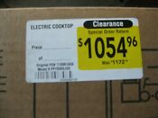 Ge Pp7030sjss 30 Inch Stainless Steel Electric Cooktop New In Unopened Box
