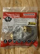 4ft 3 Prong Wire Dryer Cord