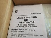 Ge Washer Bearing Kit Part Wh49x10002