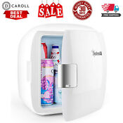 Mini Fridge 9 Liter 12 Can Ac Dc Portable Thermoelectric Cooler And Warmer White