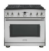 Monogram Professional 36 Dual Fuel Range With 6 Burners Zdp366nnss