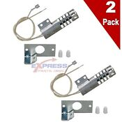2 Pack Gr403 Gas Oven Round Style Ignitor 4342528 Ap3104565 Ps360921