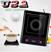 Electric Portable Induction Cooker Burner Cooktop Digial Display Kitchen Tools A