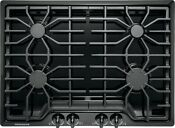 Frigidaire 30 4 Sealed Burners Cast Iron Grates Black Gas Cooktop Ffgc3026sb