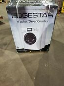 Edgestar Cwd1510w Ventless Front Loading Electric Washer Dryer