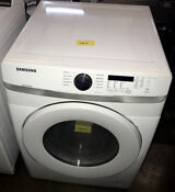 Samsung 27 Front Load 10 Cycle Gas Dryer Ada Compliant White Dvg45t6000w Gas111