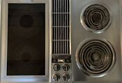 Vintage Jenn Air C201 Stainless Steel Downdraft 30 Cooktop Electric Free Ship
