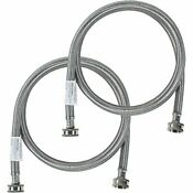 Certified Appliance Accessories Washing Machine Hoses 2 Pack Hot And Cold Wat