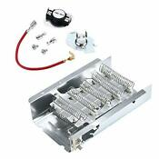 Ami Parts 279838 279816 Dryer Heating Element With Thermal Cut Off Kit