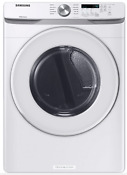 Samsung 7 5 Cu Ft Stackable Gas Dryer With Sensor Dry White With Warranty
