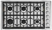 Viking 5 Series 36 Gas Cooktop With 6 Sealed Burners Vgsu53616bss