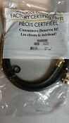 Whirlpool W10782875 Steam Dryer And Regular 5ft Hose Kit New Free Shipping