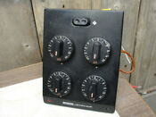 Jenn Air Control Unit W 4 Switches Fan Switch Knobs One Speed Fan Black