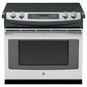 Ge Stainless Steel 30 In Drop In Electric Range