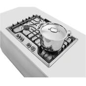 New Frigidaire 30 5 Burner Gas Cooktop Stainless Steel Fggc3045qs