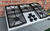 Ships 48 Clean 36 Stainless Steel Dacor Gas Cooktop With 5 Cast Burners Sgm365
