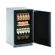 U Line 2000 Series 2218 18 Inch Integrated Solid Door Refrigerator