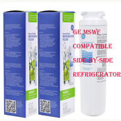 Genuine Ge Mswf Smartwater Refrigerator Water Filter Replacement 2pack